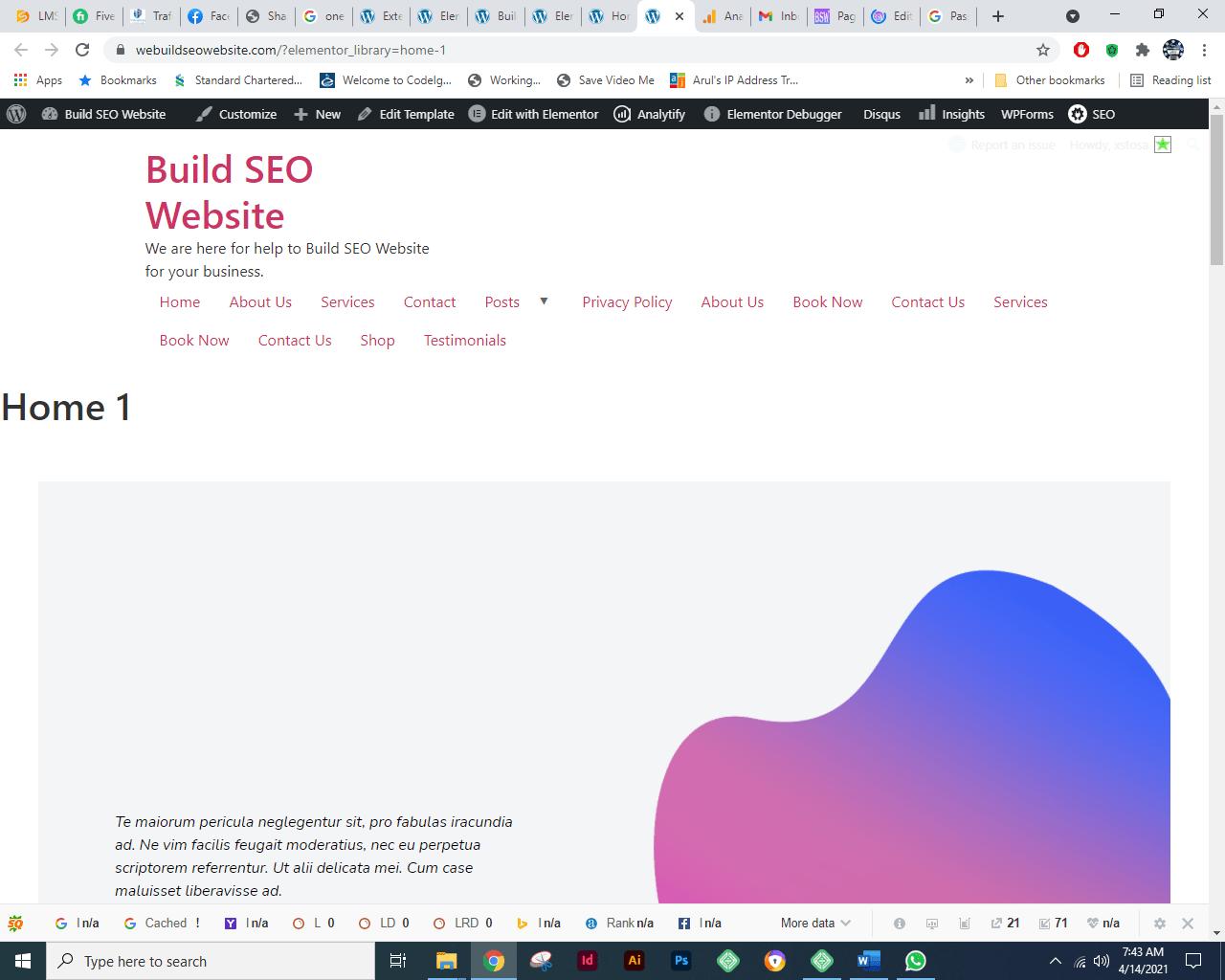 Hello Theme and Import Demo Content